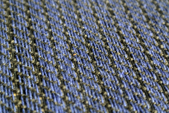 A close-up of the fibers
